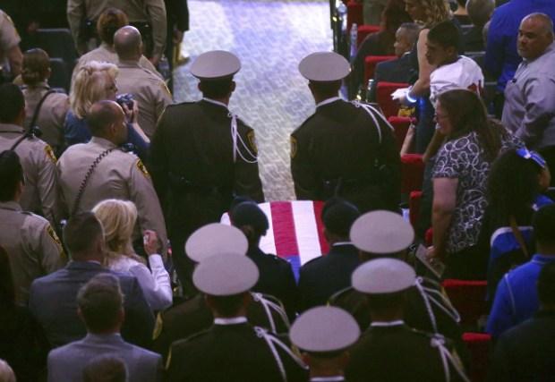 Charleston Hartfield's funeral