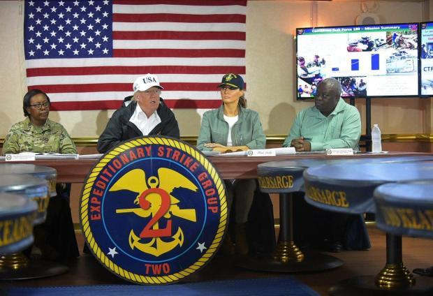 Trump and Mapp met to discuss storm relief for the Virgin Islands.jpg