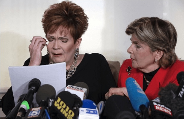 Beverly Nelson and her attoerney Gloria Allridge 1
