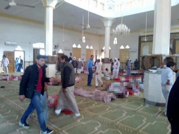 Hundreds were killed in the Egypt Mosque attack