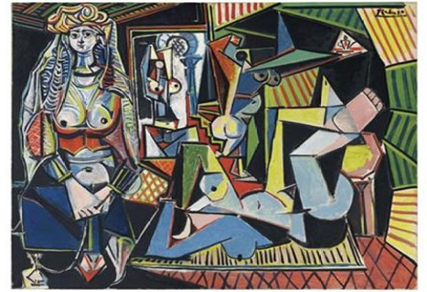 Pablo Picasso's painting 'Women of Algiers [Version O]'