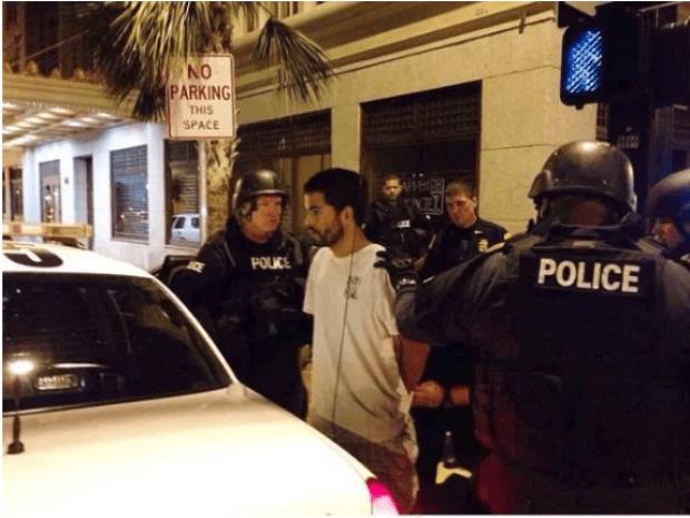 SWAT arrest Adam Matos in 2014