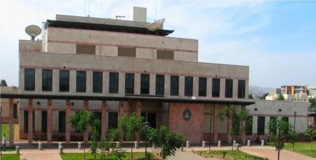US embassy Bamako, Mali 1