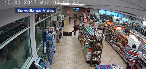 Timothy Wyatt's kidnap victim runs into gas station convenience store for help.png