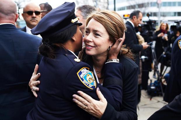 Irene Moore, mother of slain New York Police officer Brian Moore.jpg