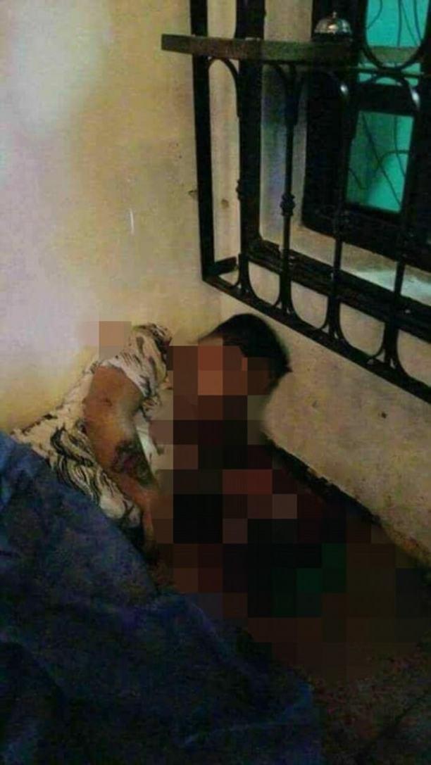 Juan Luis Lagunas Rosales' bullet ridden body 1.jpg