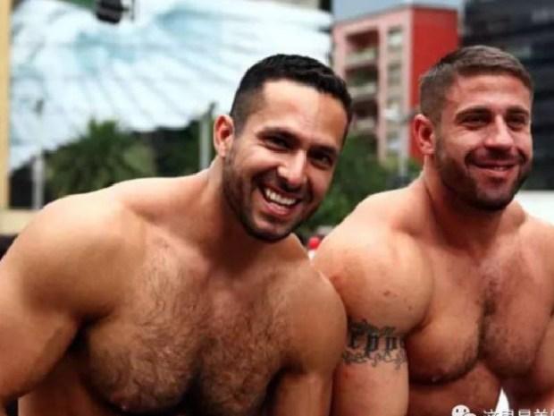 Ruggero Freddi aka Carlos Masi and boyfriend Gustavo Alejandro Leguizamon aka Adam Champ 1.jpeg