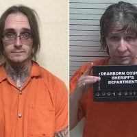 Depraved Indiana couple, Cody Booth and Margie Thompson, charged with killing, robbing Booth's mom, grandfather