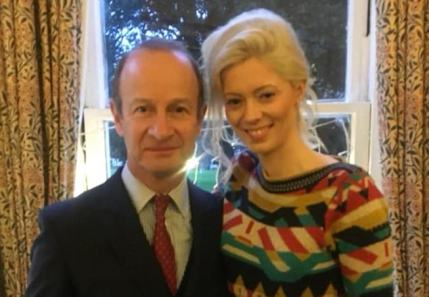Henry Bolton and girlfriend Jo Marney 2