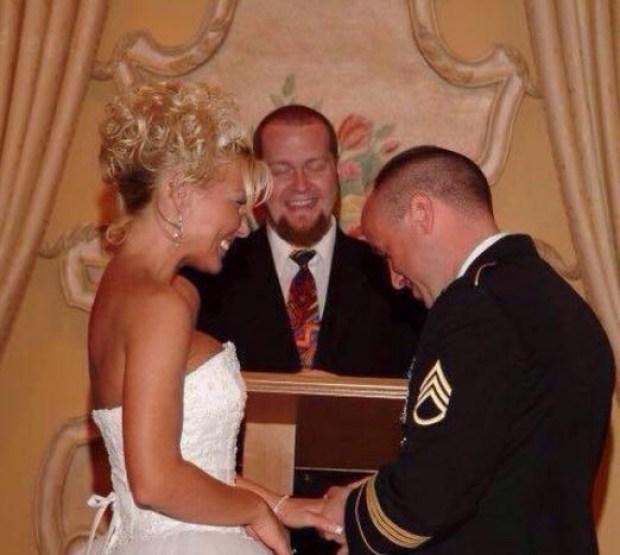 Kathleen Dawn West, weds husband, Jeff West 1
