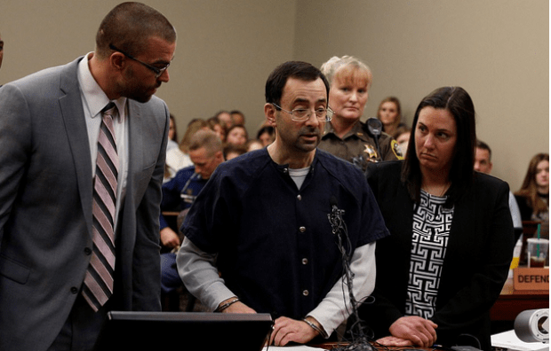 Larry Nassar and his defense team 3