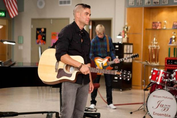 Mark Salling in the role of Puck in Glee 3.jpg