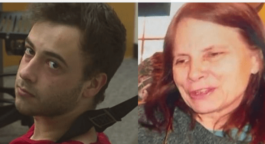 Crazy acting Michael Giordano arrested after he raped, killed and set Seattle mother, 63, on fire in a home invasion - After the  'random attack,' he who wrote Satanic messages on walls with her blood and left a KNIFE in her backside