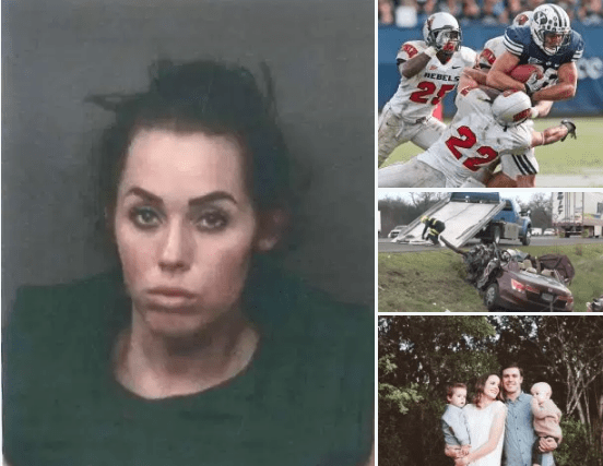 'Suicidal' Grace Ward charged with murder: Admits deliberately 'driving wrong way up an interstate and smashing into oncoming car', killing aspiring doctor and former BYU running back, Ryan Folsom