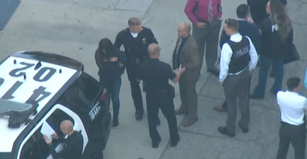 Female suspect at Salvador Castro Middle School in custody