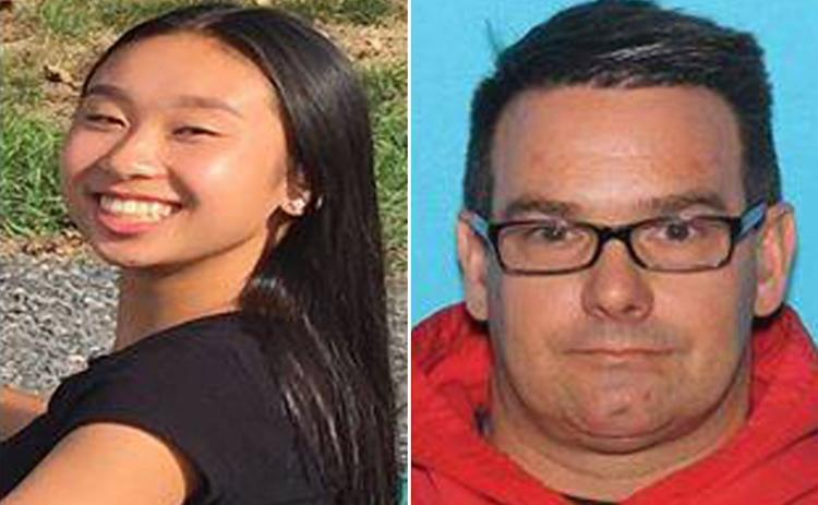 Missing 16-year-old Pa., girl may have fled abroad with man, 45, who checked her out of school 10 times - Mexico authorities issue amber alert for Amy Yu and Kevin Esterly