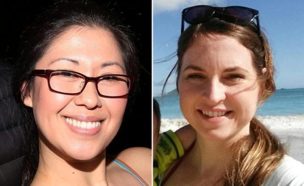 Ruthie Ann Blumenstein, aka Ruthie Ann Miles, [left] and her friend Lauren Lew [right].jpg