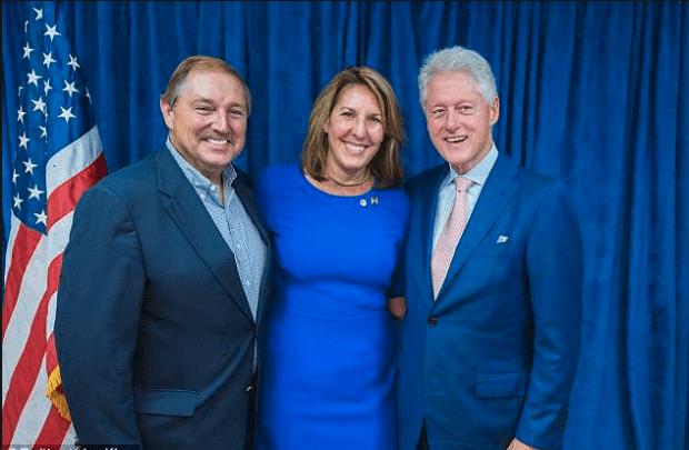 John Parker, Lisa King and Bill Clinton 2.png