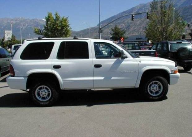 Justin Korf's white Dodge Durango .jpg
