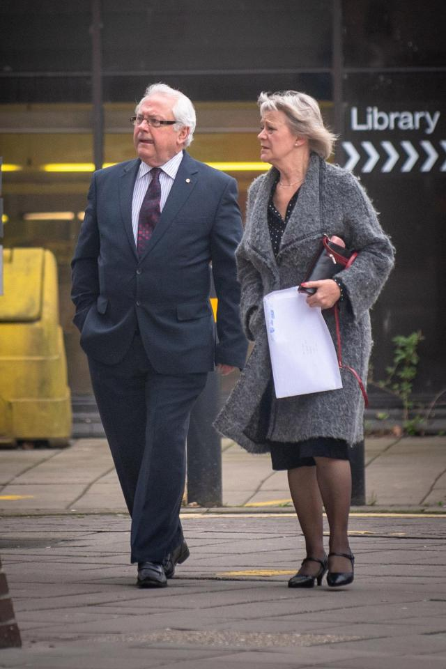 Miriam Lewis, former wife of Sir Lindsay Hoyle [right] 2