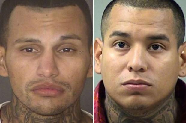 Alfredo Alejandro Herrera [left] and Ray Hernandez Jr [right]