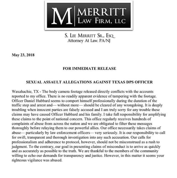 Lee Merrit;s apology statement 1.jpg