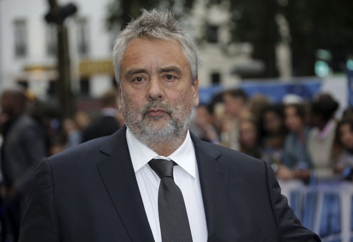 French movie director Luc Besson,  accused of drugging and raping an actress, 27, at a Paris hotel