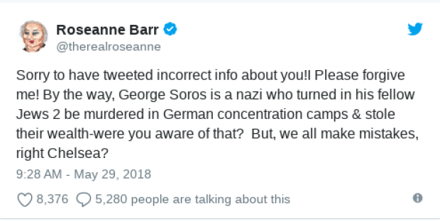 Roseanne Barr tweet 3.png