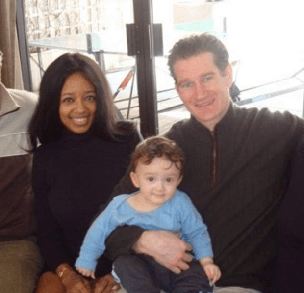 Stephanie Adams [left], her son Vincent and her husband, Charles Nicolai .png
