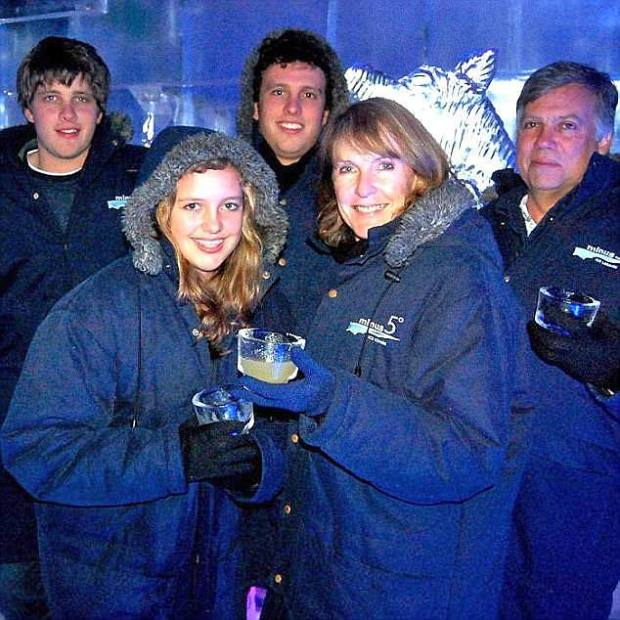 Van Breda family: Martin Martin Van Breda (right), his son wife Teresa, and eldest son Rudi (centre) and Marli (front) .jpg