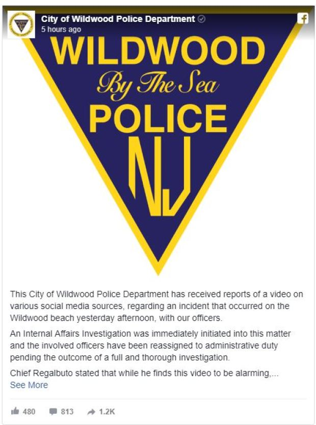 Wildwood Police, NJ react.JPG