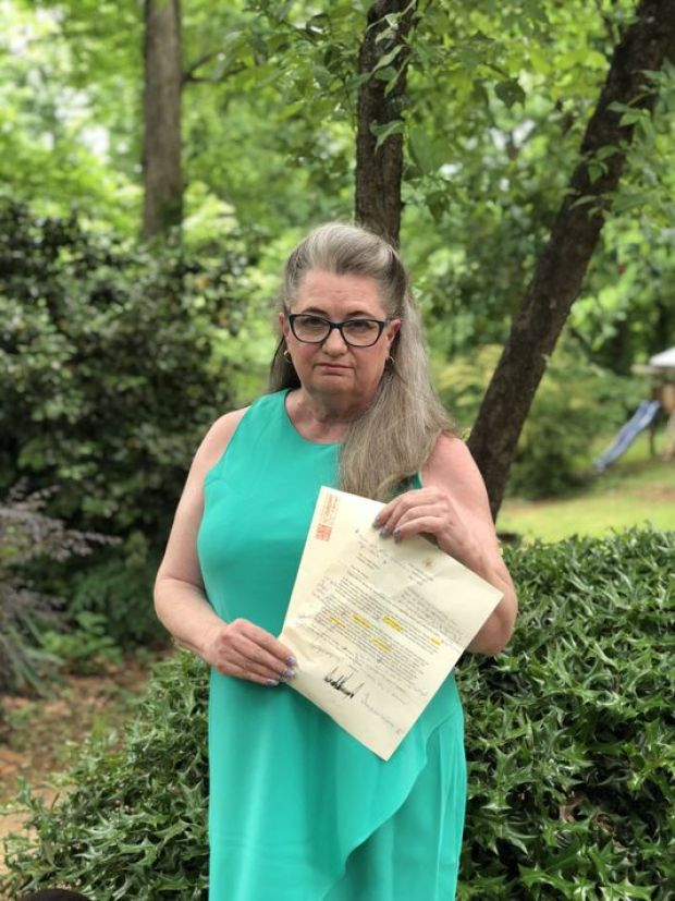 Yvonne Mason corrected Trump's letter 2