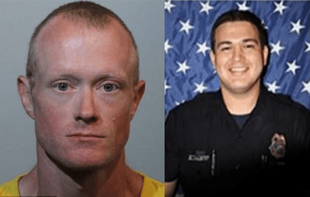 Gary Wayne Lindsey Jr, [left], and officer Kevin Valencia [right] 1.png