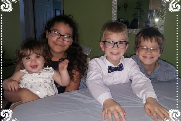 Irayan Pluth, 11; Lillia Pluth, 10; Aidan Lindsey, 6; and 1-year-old Dove Lindsey 2.jpg