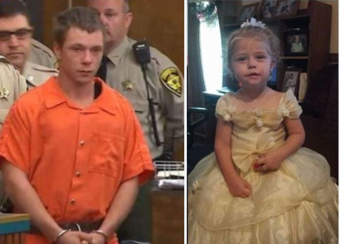 Adolphus Earl Kimrey charged after autopsy reveals he poisoned Mariah Woods, girlfriend's 3-year-old baby! He then wrapped the toddler in trash bags, zipped body in a couch cover with cement and threw her in a creek