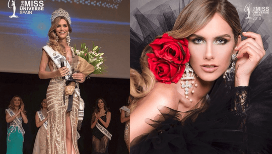 Ángela Ponce made history when she was crowned Spain's first transgender contestant winner of 'Miss Universe' pageant