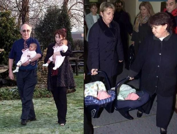 Alan Kilshaw and Judith Kilshaw with the infant Kiara and Keyara 2.JPG