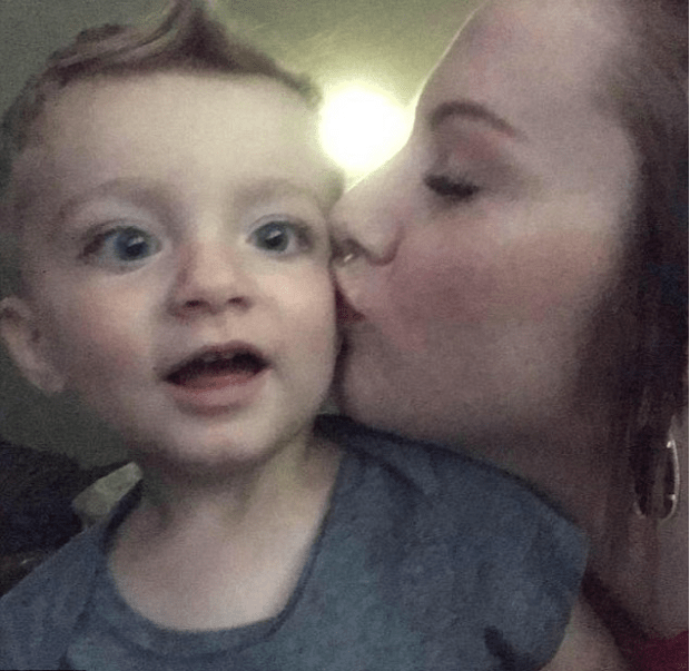 Alexandria Murphy and her slain son Ashton Ness 1