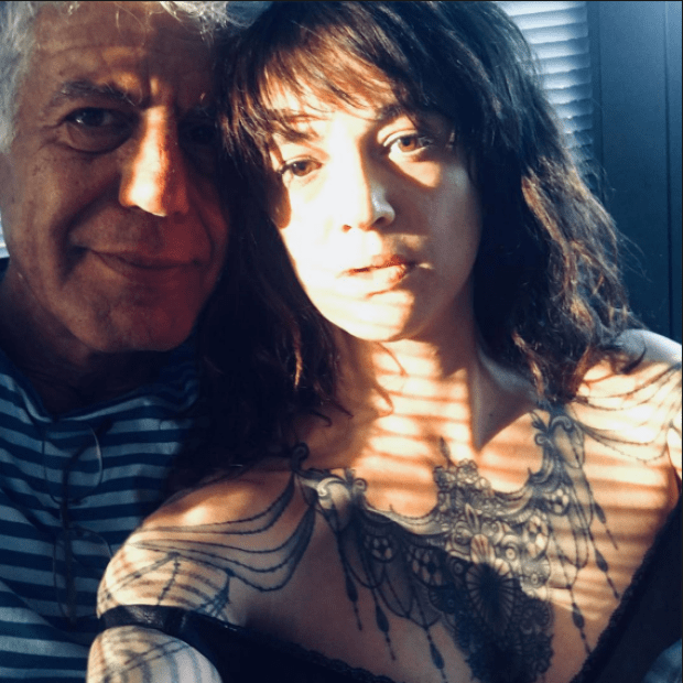 Anthony Bourdain and Asia Argento 2