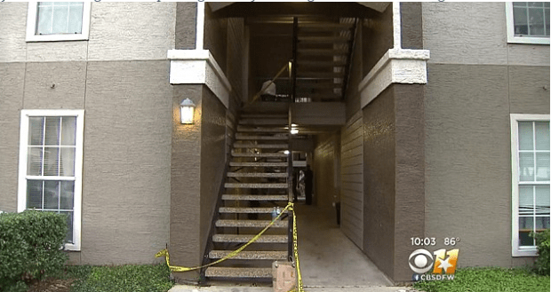 Apt complex where Texas man attacked his 16-month-old son.png