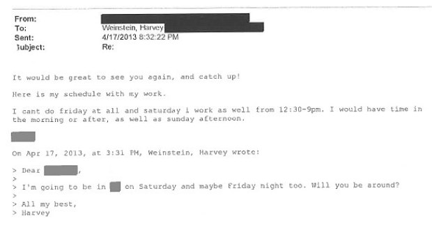 Harvey Weinstein's communication with alleged rape victim 3.jpg