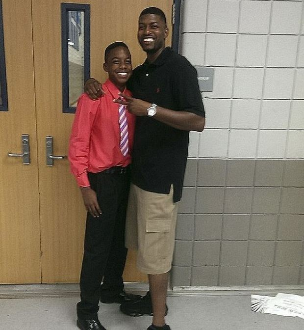 Jordan Edwards and his dad Odell Edwards 1