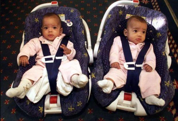 Kiara and  Keyara at six months.JPG