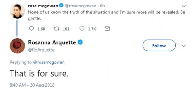 Rosanna Arquette tweet 2