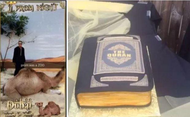 Saudia Shuler and her son's pre-prom cake 2.JPG