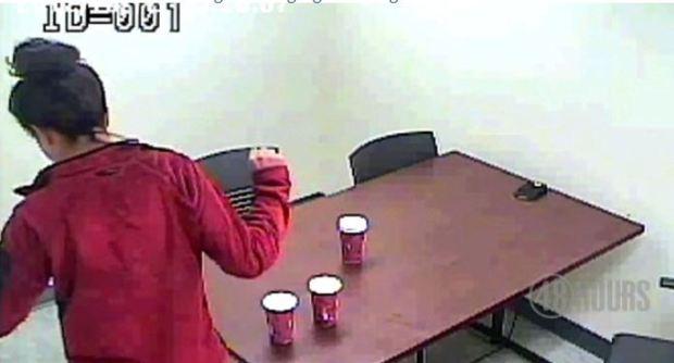 Shayna Hubers dancing in police custody3