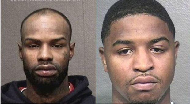 Travonn Johnson [right], andDavis Mitchell [left] 1