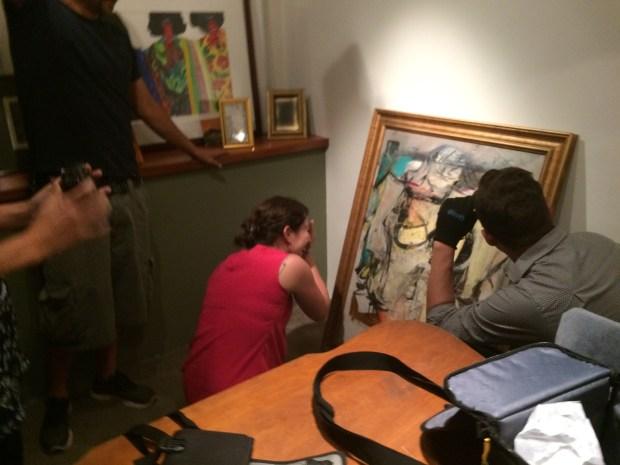 Willem de Kooning's iconic 'Woman-Ochre' painting 3.jpg