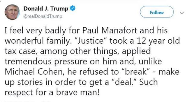 Donald Trump on Paul Manafort conviction in Virginia 1.JPG