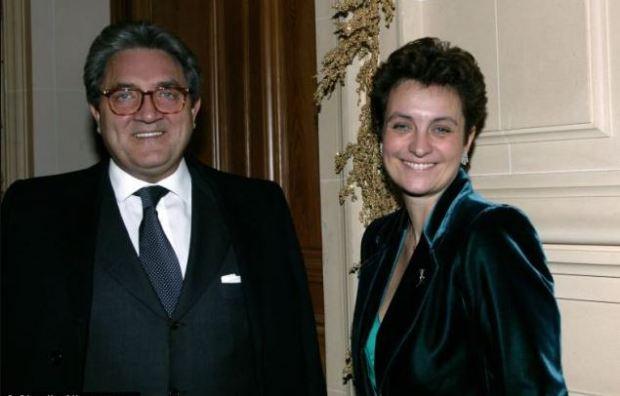 Janowski and Sylvia Pastor (right) 1